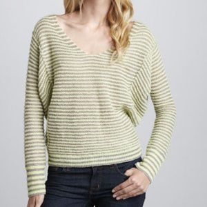 Free People Pullover Sweater Striped
